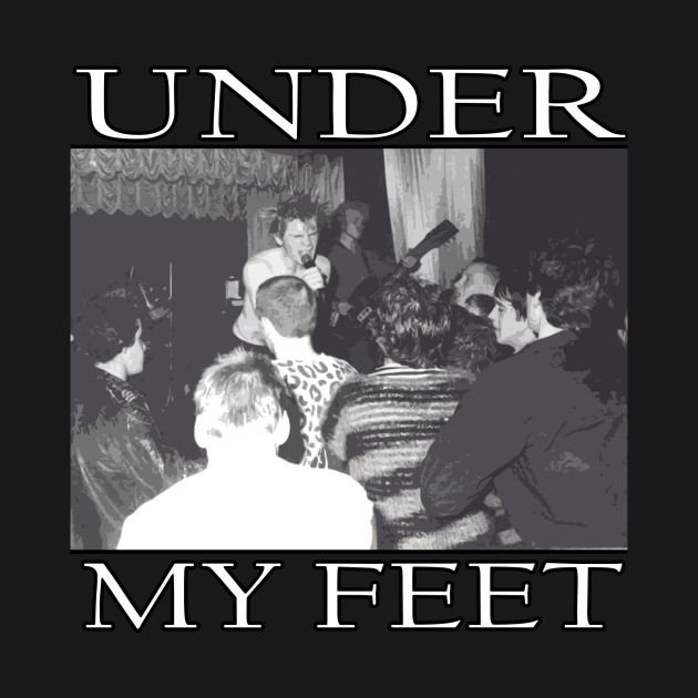 Disharge t-shirt UNDER MY FEET demo song