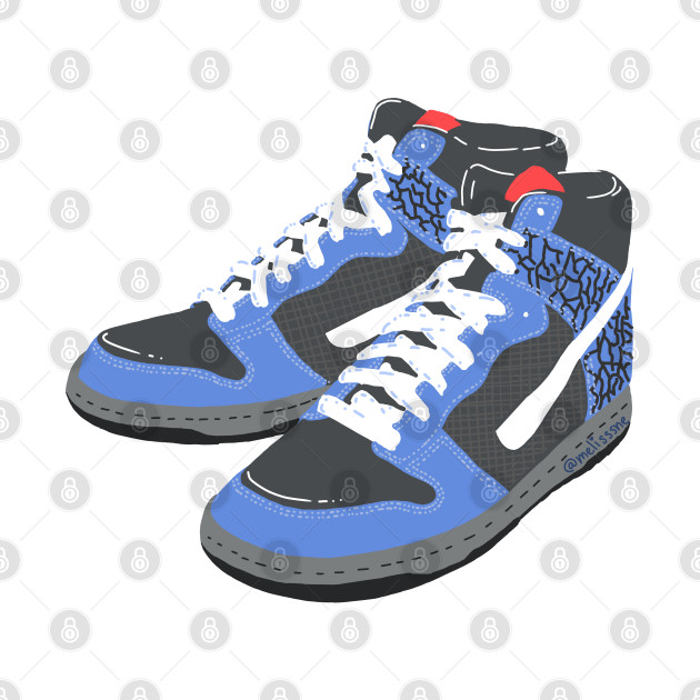 Basketball Sneakers Dunk