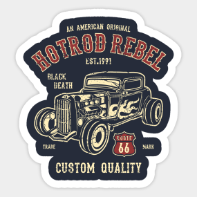 Hot Rod Lincoln Stickers Teepublic