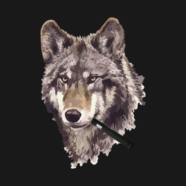 wolf vape pen smoking pretty wolf t shirt teepublic
