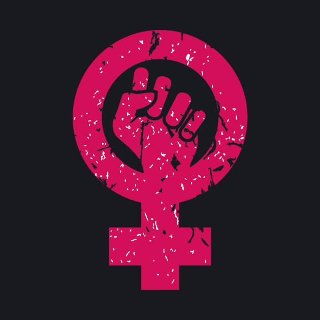 woman symbol feminism - power female