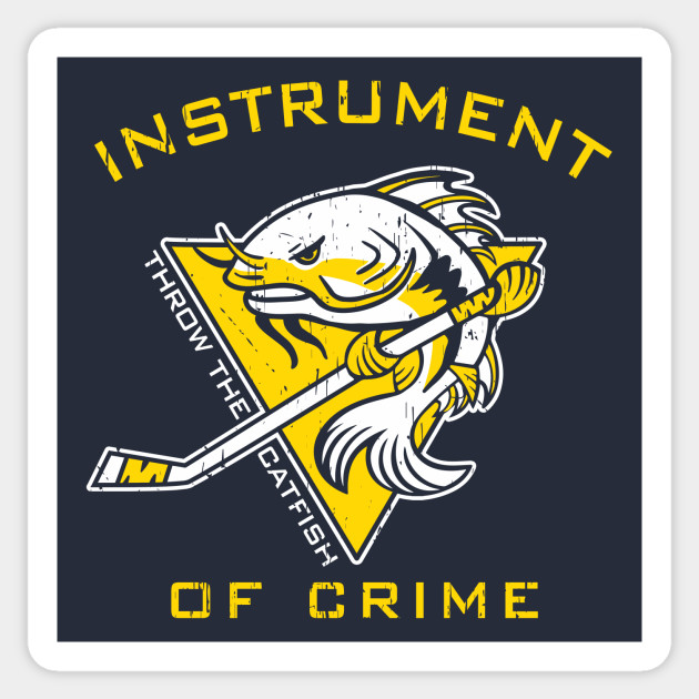 0cec81691 Instrument of Crime - Nashville Predators - Sticker | TeePublic