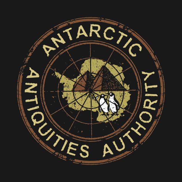 Antarctic Antiquities Authority - Roundel (black only)