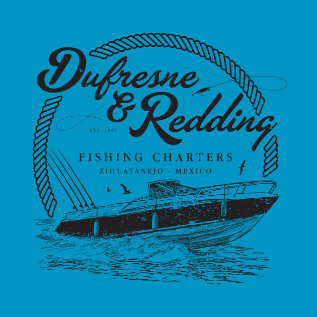 Dufresne & Redding Fishing Charters (aged look)