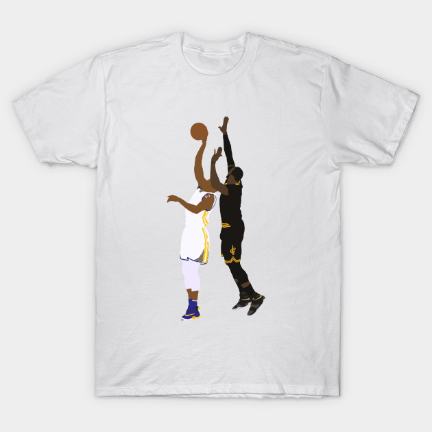 533a8465bd56 LeBron James Block On Andre Iguodala - Lebron James - T-Shirt ...
