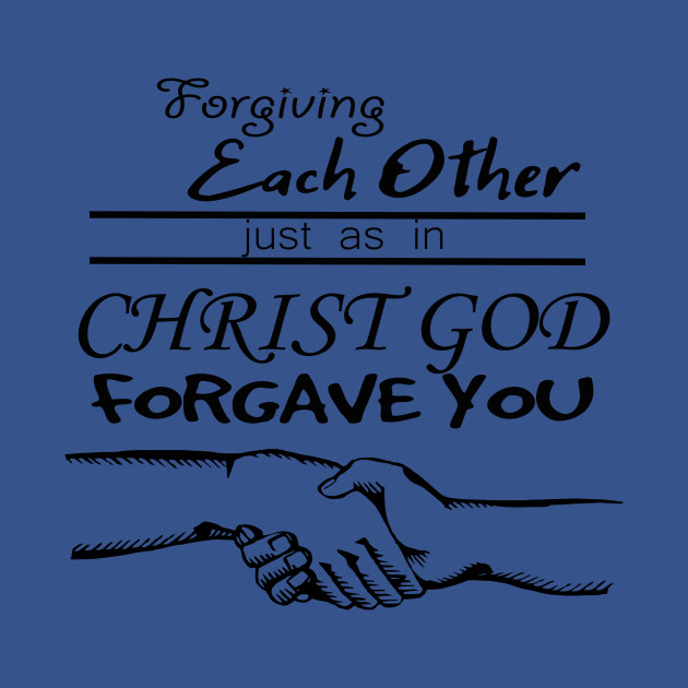 Forgiving each other