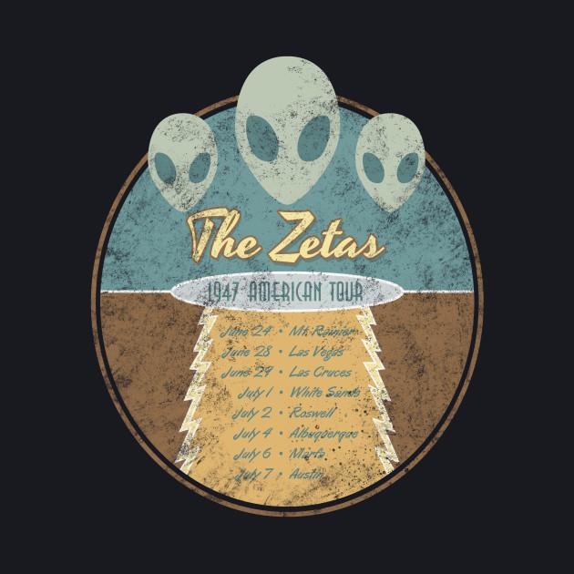 The Zetas 1947 US Tour