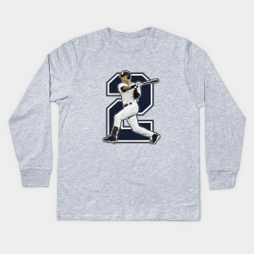 bd78aae8f Derek Jeter Kids Long Sleeve T-Shirts | TeePublic