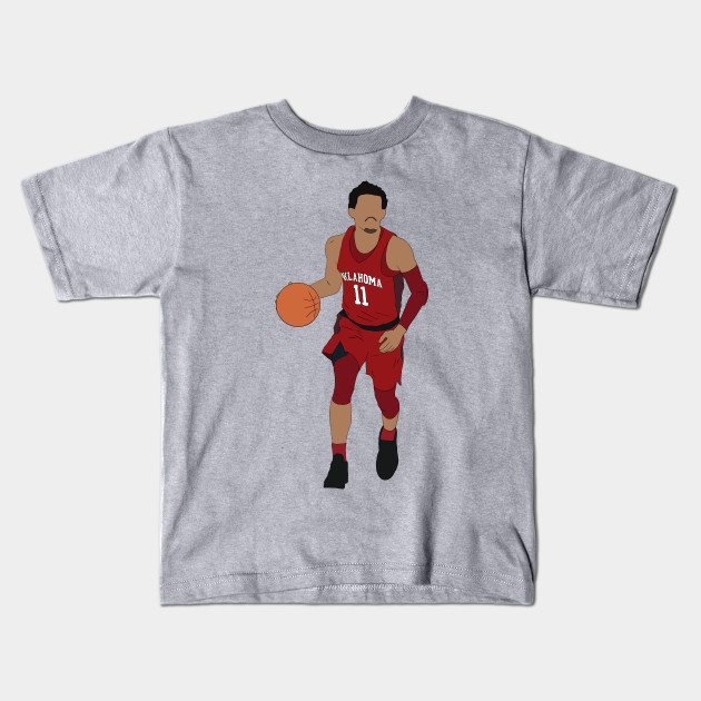 Trae Young Dribbling - Trae Young - Kids T-Shirt  5269ab0ef