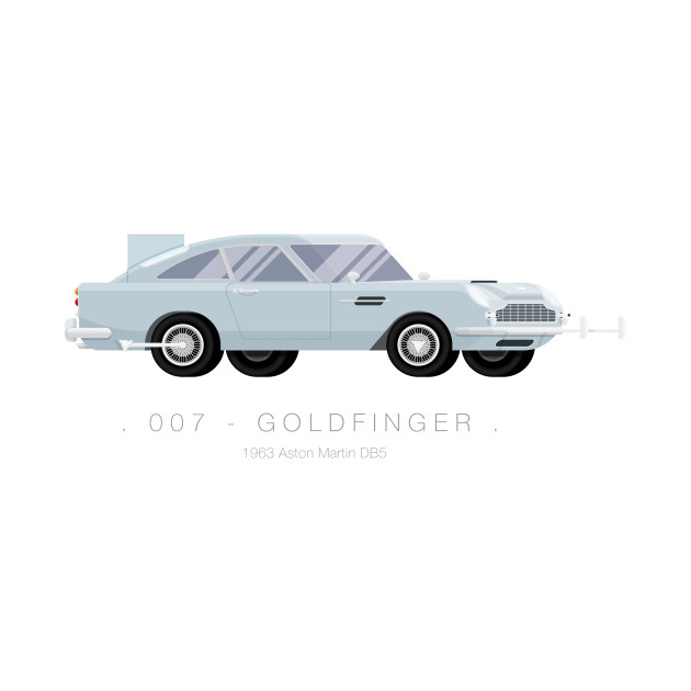 007 Goldfinger - Famous Cars
