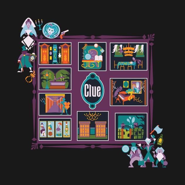Haunted Mansion Clue