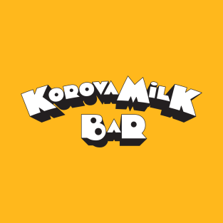 Korova Milk Bar t-shirts
