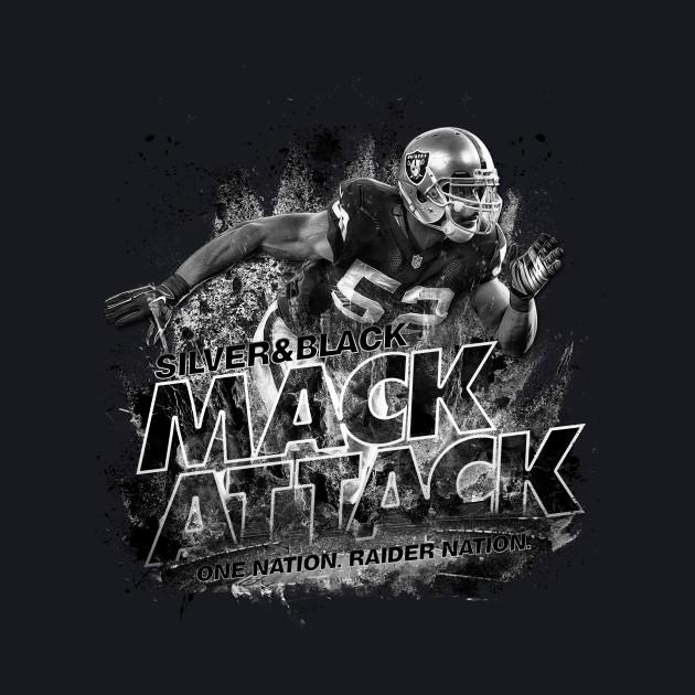 Silver & Black Khalil Mack Attack