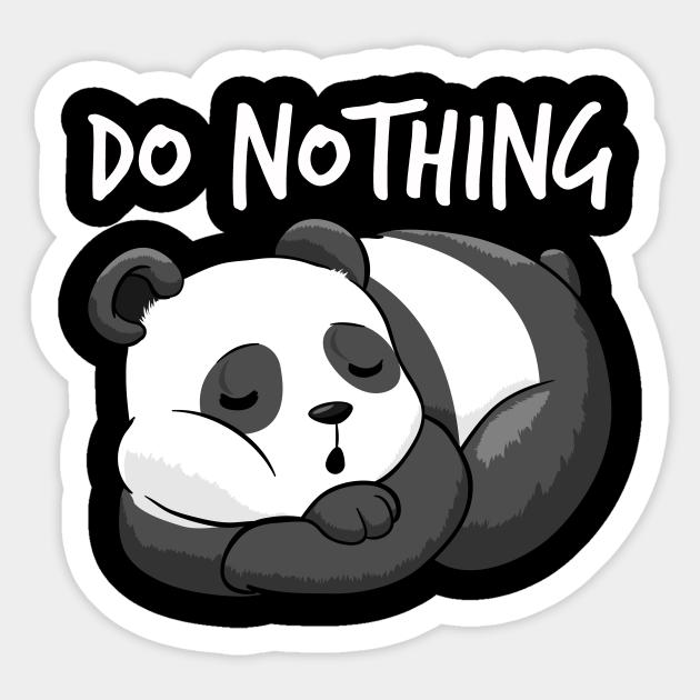 Nap Like You Love Yourself HOODIE hoody birthday gift lazy sleepy panda funny