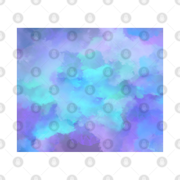 Pretty Purple Clouds Abstract Art