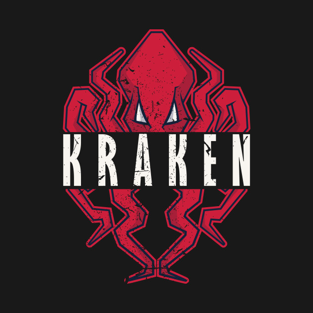 Retro Vintage Sea Monster Octopus Kraken Cthulhu T Shirt