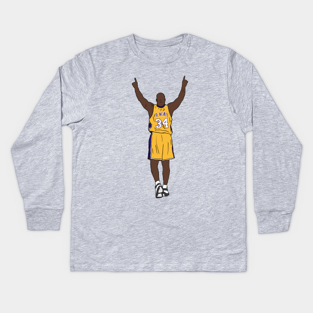 detailed look 203ff 2e1b2 Shaquille O'Neal Pointing Up