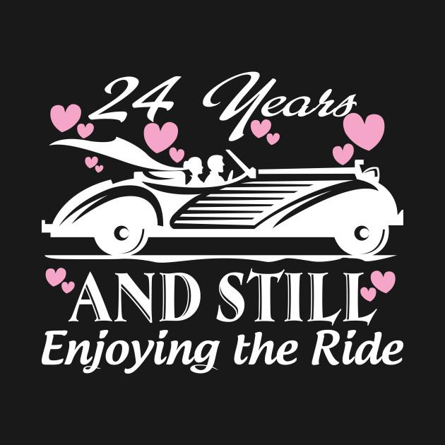 Anniversary Gift 24 Years Wedding Marriage Anniversary Mug
