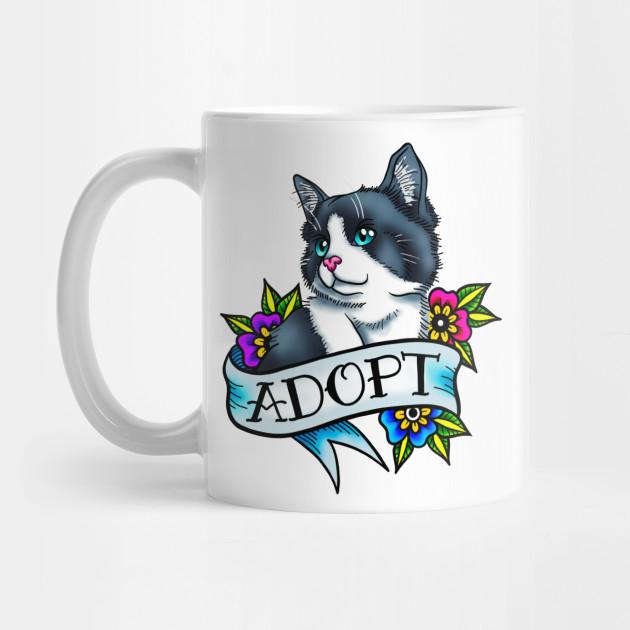 Adopt a Cat by nopeprints