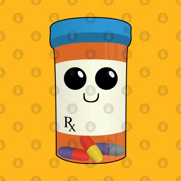 Rex the Pill Bottle - Drug Buddies