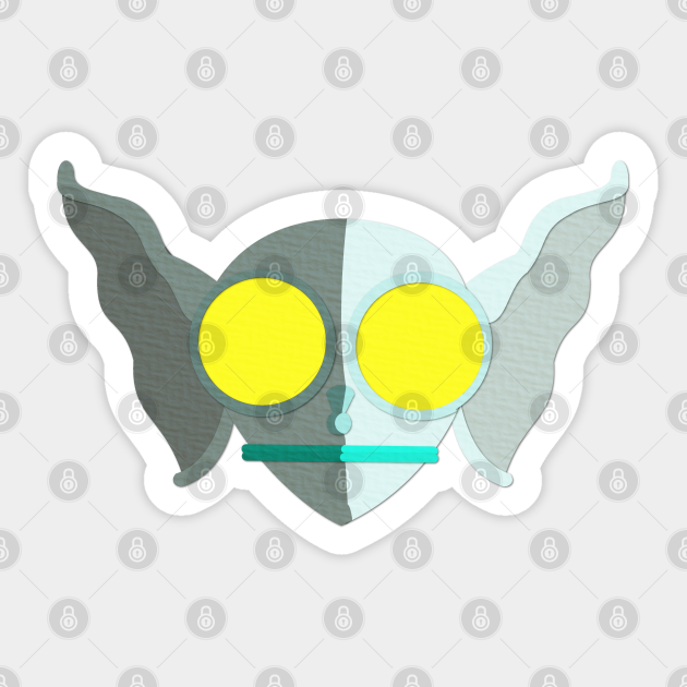 Hopkinsville Goblin circle sticker