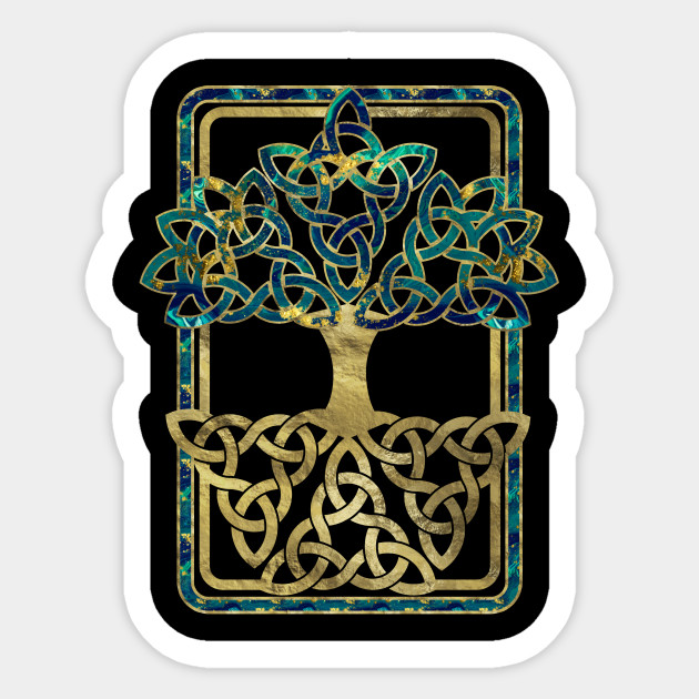 tree of life - yggdrasil - tree of life - sticker | teepublic