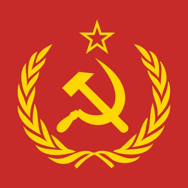 soviet union cccp ussr emblem red soviet union tapestry teepublic