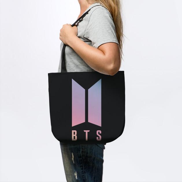 BTS New Logo - Kpop - Tote Bag