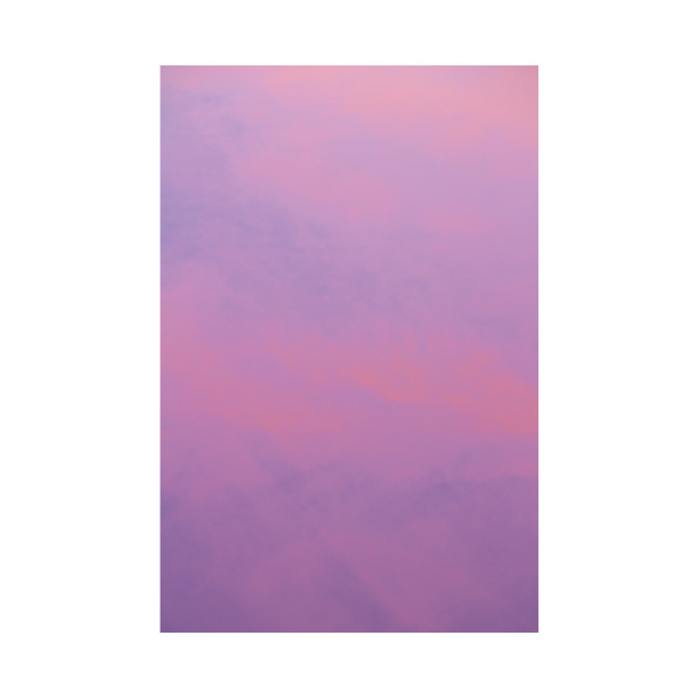Purple & Pink Cotton Candy Sky