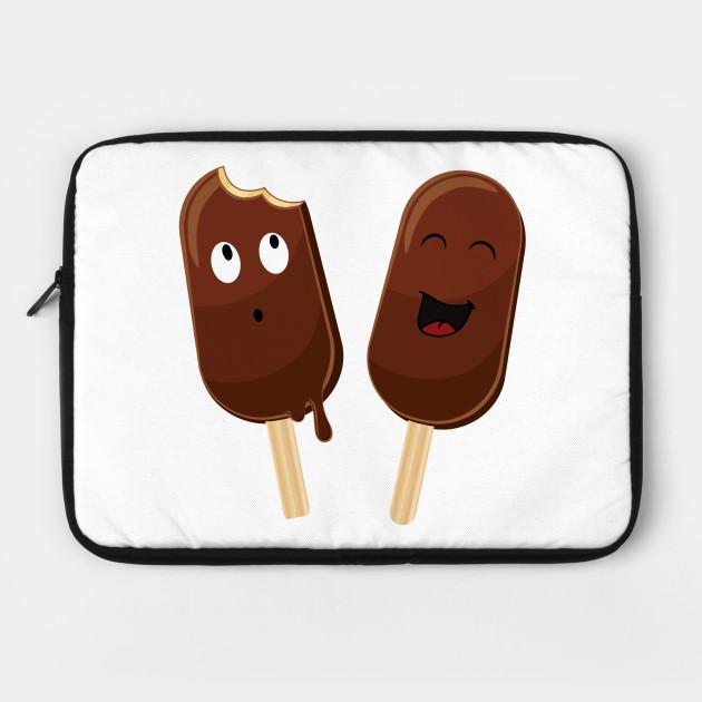 Funny chocolate icecream