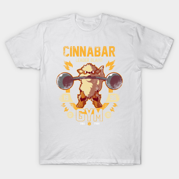 Cinnabar Gym T-Shirt-TOZ