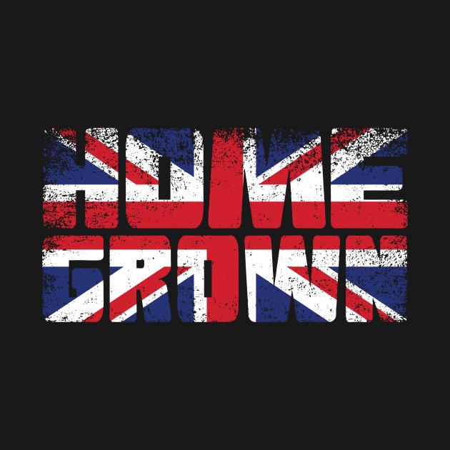 Home Grown British Flag
