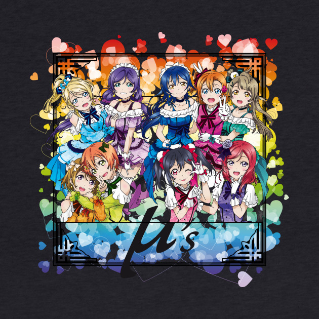 Love Live! - U's KiraKira Sensation - Camo edit.