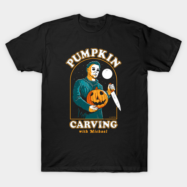 Carving With Michael T-Shirt