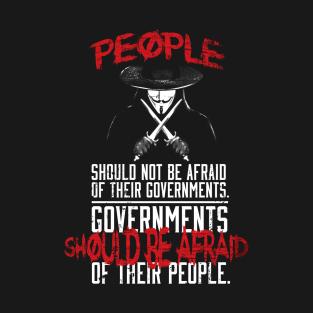 V For Vendetta T Shirts