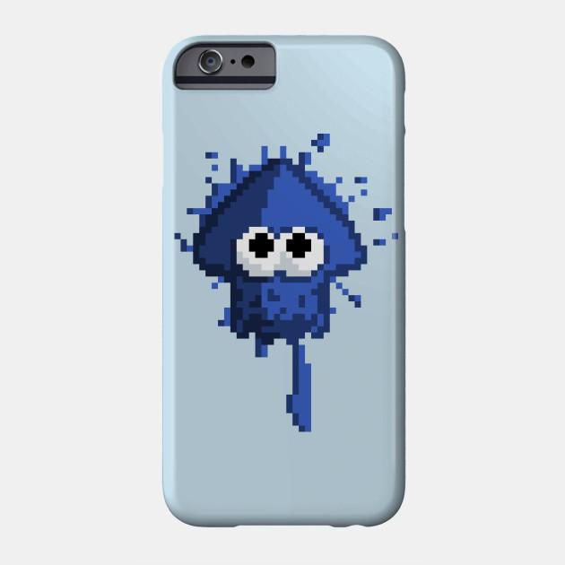 Pixel Squid Blue