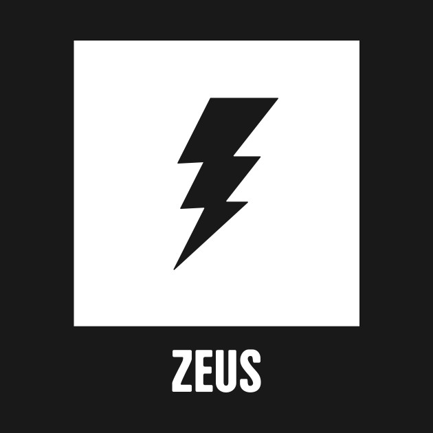 Zeus Greek Mythology God Symbol Greek Mythology Onesie Teepublic