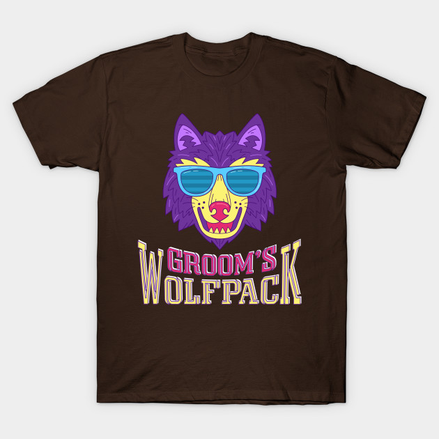 Funny Wedding Gifts For Groom: Funny Groom's Wolf Pack