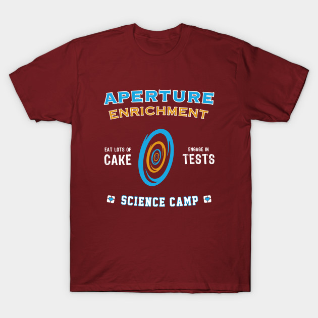 Aperture Science Camp T-Shirt-TOZ