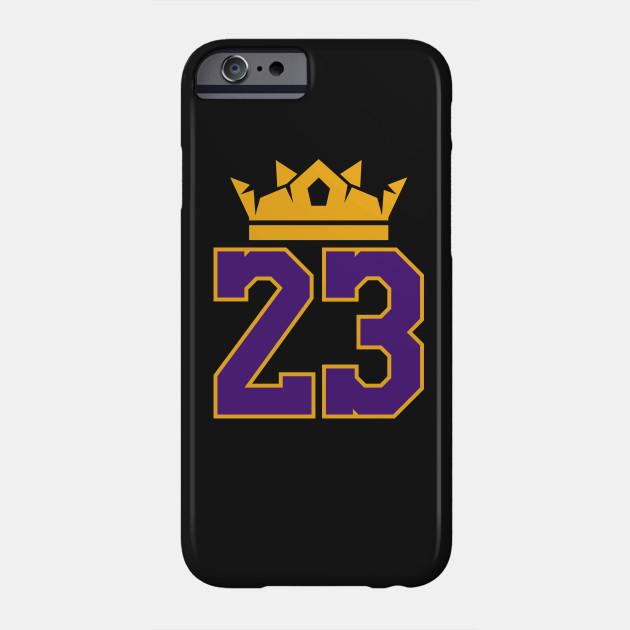 efde4f021e7 King James Lakers 23 - Lebron James - Phone Case   TeePublic