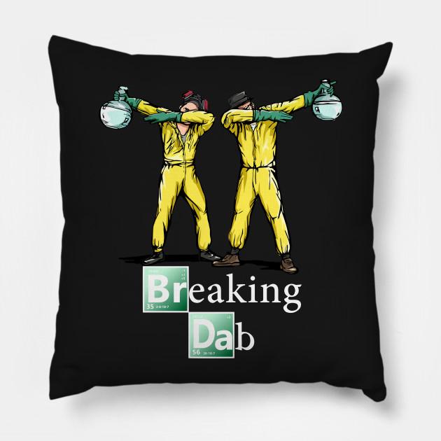 Cuscini Breaking Bad.Breaking Dab Breaking Bad Cuscino Teepublic It