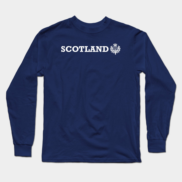 31956e2fe Scotland Thistle - Scotland - Long Sleeve T-Shirt | TeePublic