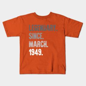 Main Tag 70th Birthday Gift Kids T Shirts