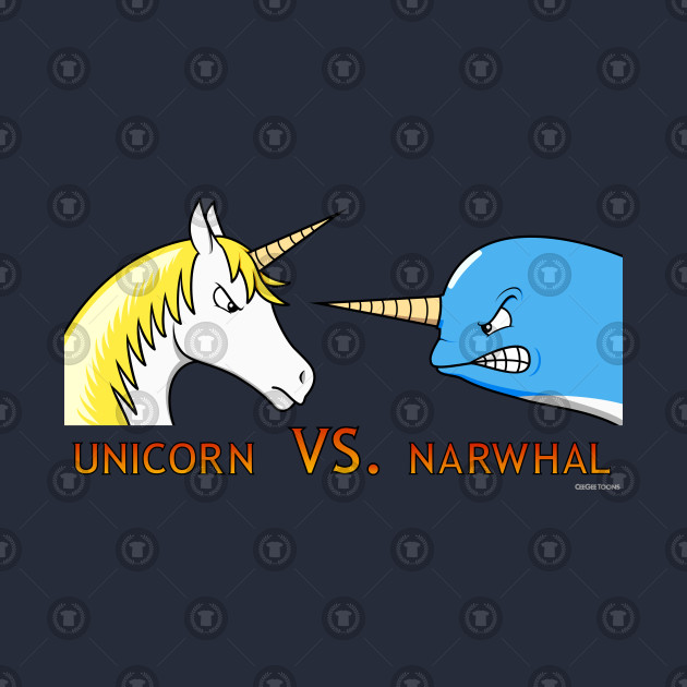 Unicorn Vs. Narwhal