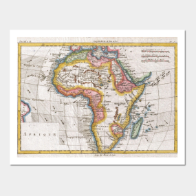 Vintage africa map posters and art prints teepublic gumiabroncs Images