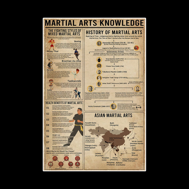 Martial Arts Knowledge T-shirt