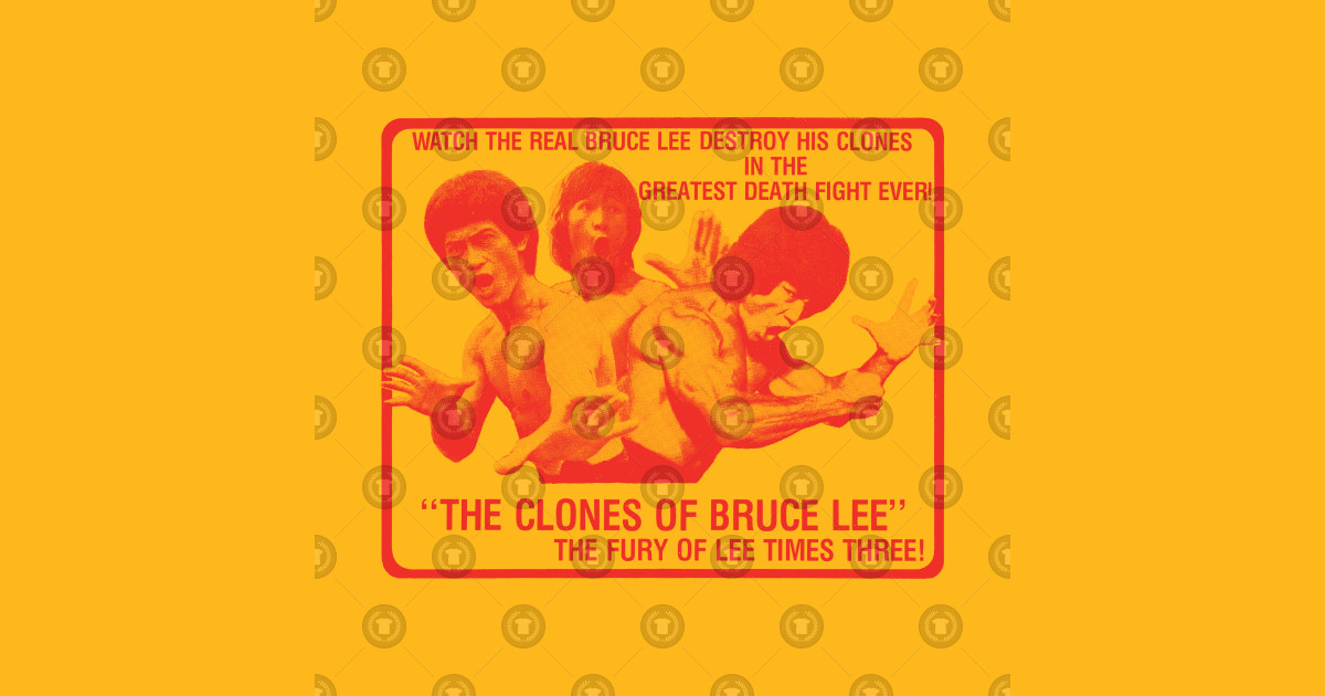 The Clones of Bruce Lee (red) - Clones Of Bruce Lee - T-Shirt