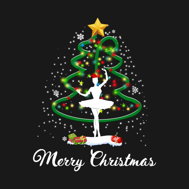 Dancing Christmas Tree - Christmas - T-Shirt | TeePublic