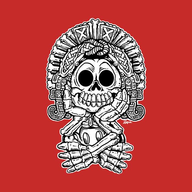 Adorable Aztec Death God