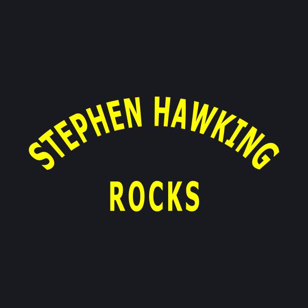 Stephen Hawking Rocks